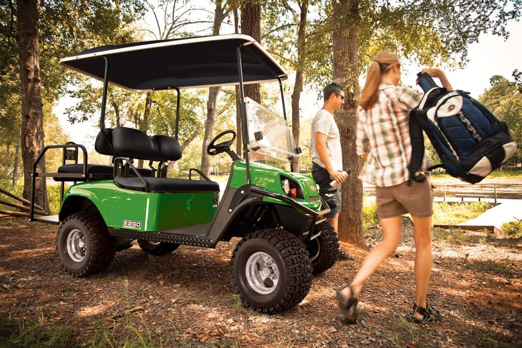 golf car, golf cart