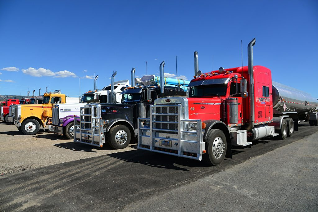 CDL Truckers on the job